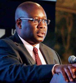 Minister of Mines Mr Winston Chitando